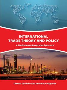 Cover for International Trade Theory and Policy: A Zimbabwean Integrated Approach